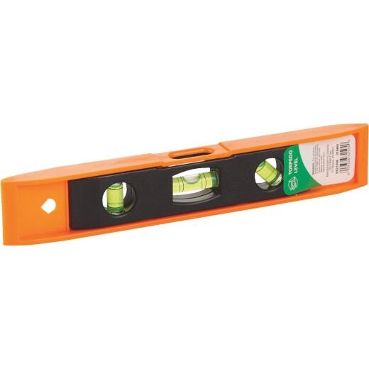 Smart Savers 9 In. Plastic Torpedo Level