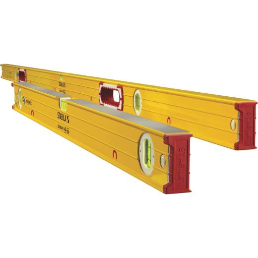 Stabila 78 In. and 32 In. Aluminum Magnetic Box Level Set