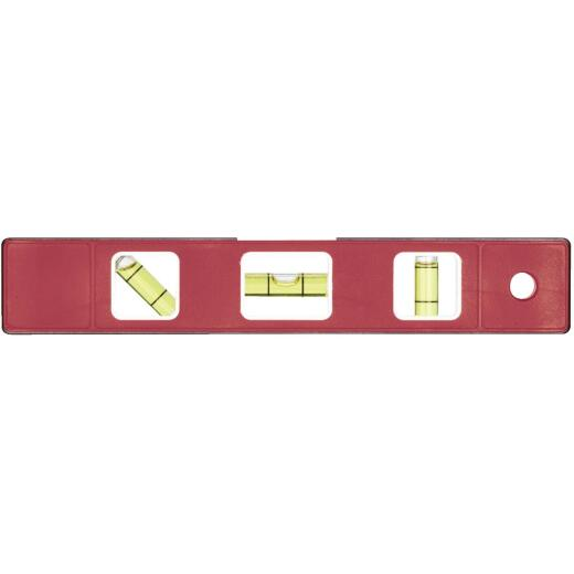 Johnson Level 9 In. Aluminum Magnetic Torpedo Level