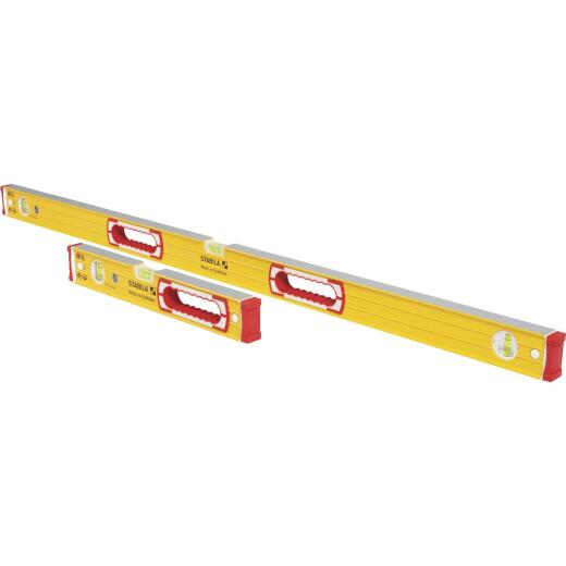 Stabila 48 In. and 16 In. Aluminum Box Level Set
