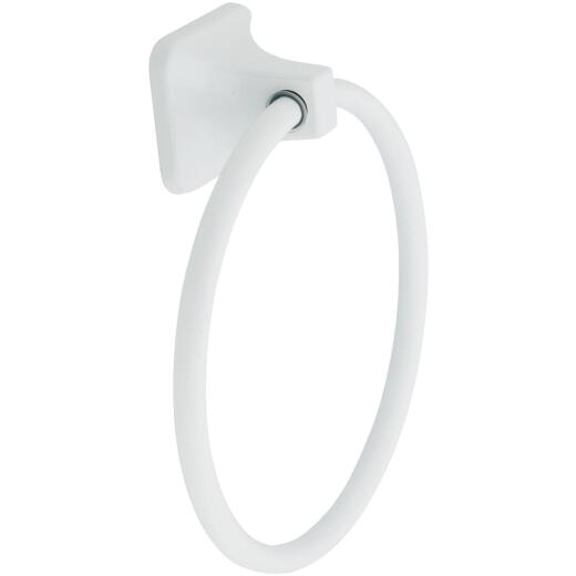 Home Impressions White Towel Ring
